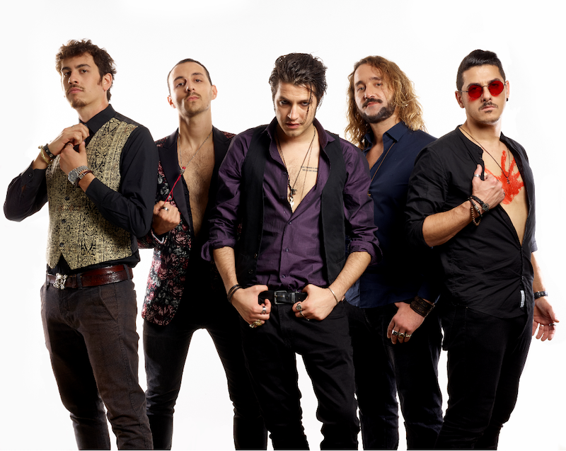 Reynolds la poetica band milanese