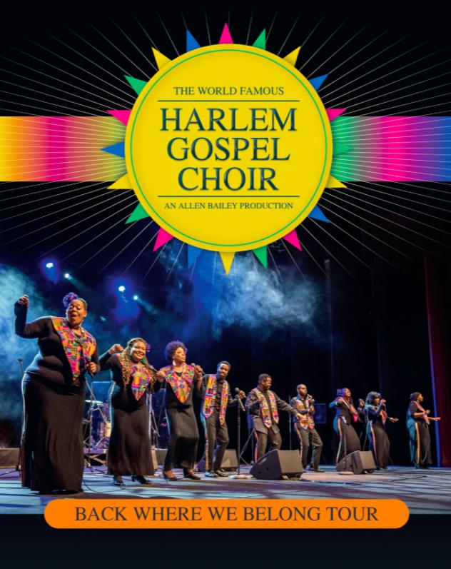 HARLEM GOSPEL CHOIR: il coro gospel più famoso al mondo torna in tour in Italia per una serie di concerti a dicembre
