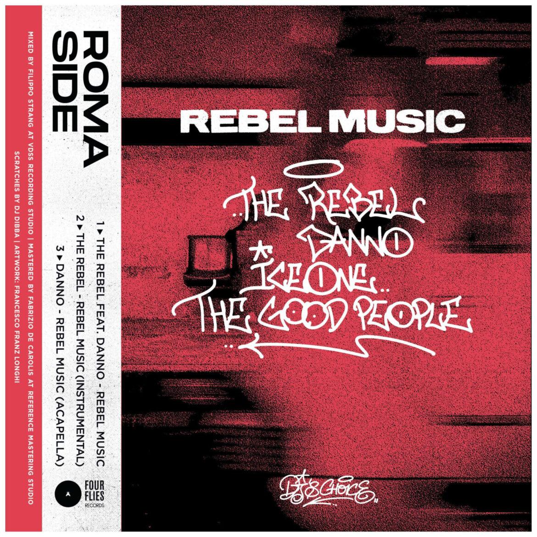 """The Rebel feat. Danno – """"Rebel Music"""", da oggi su YouTube il videoclip del DJ e producer romano insieme al rapper icona dell'hip hop italiano"""